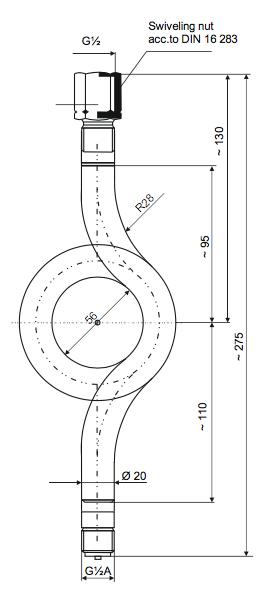 bản vẽ ống siphon