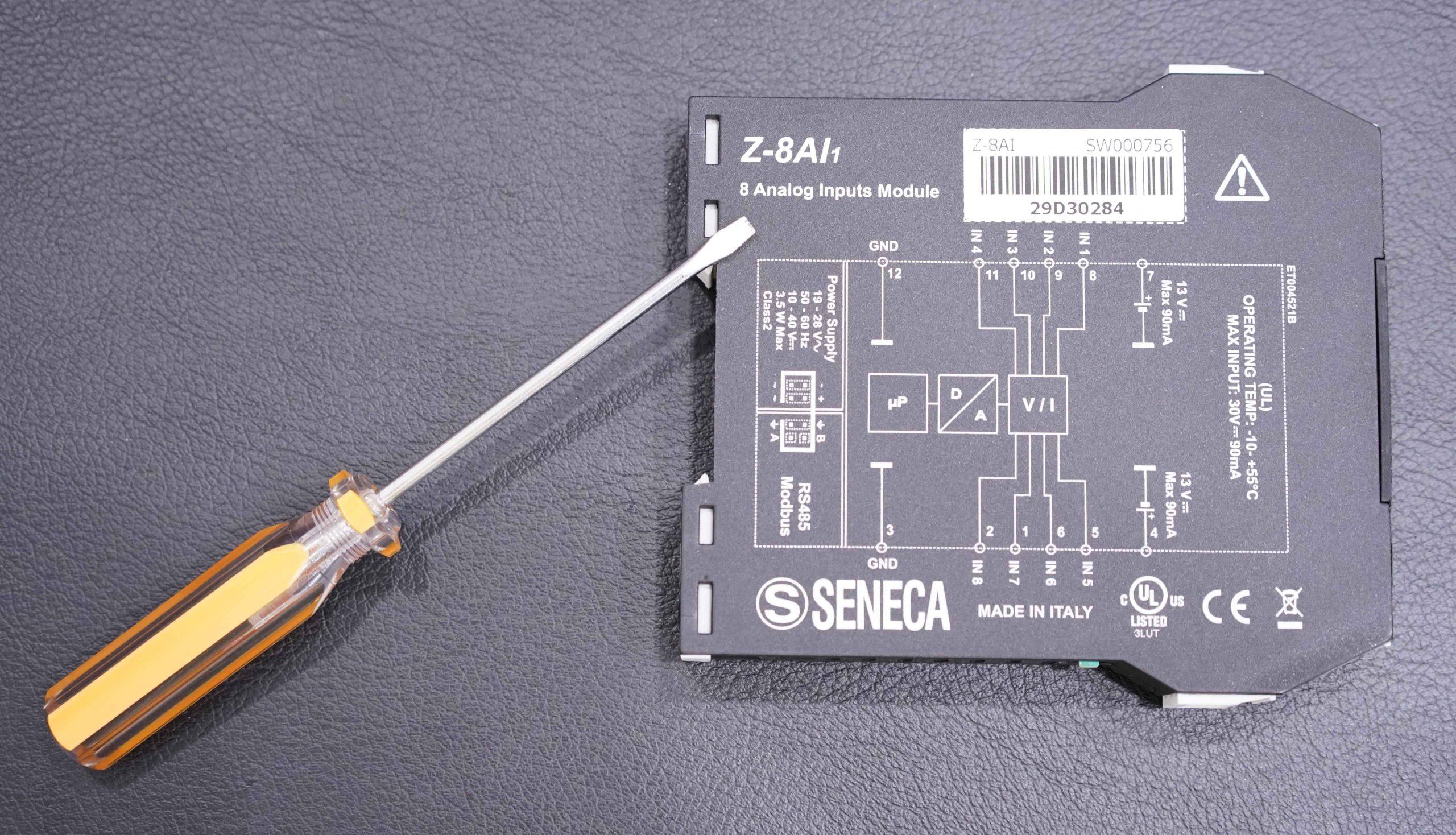 bộ chuyển đổi Z-8AI nhận 8 tín hiệu Analog 4-20mA Chuyển Sang Modbus RTU