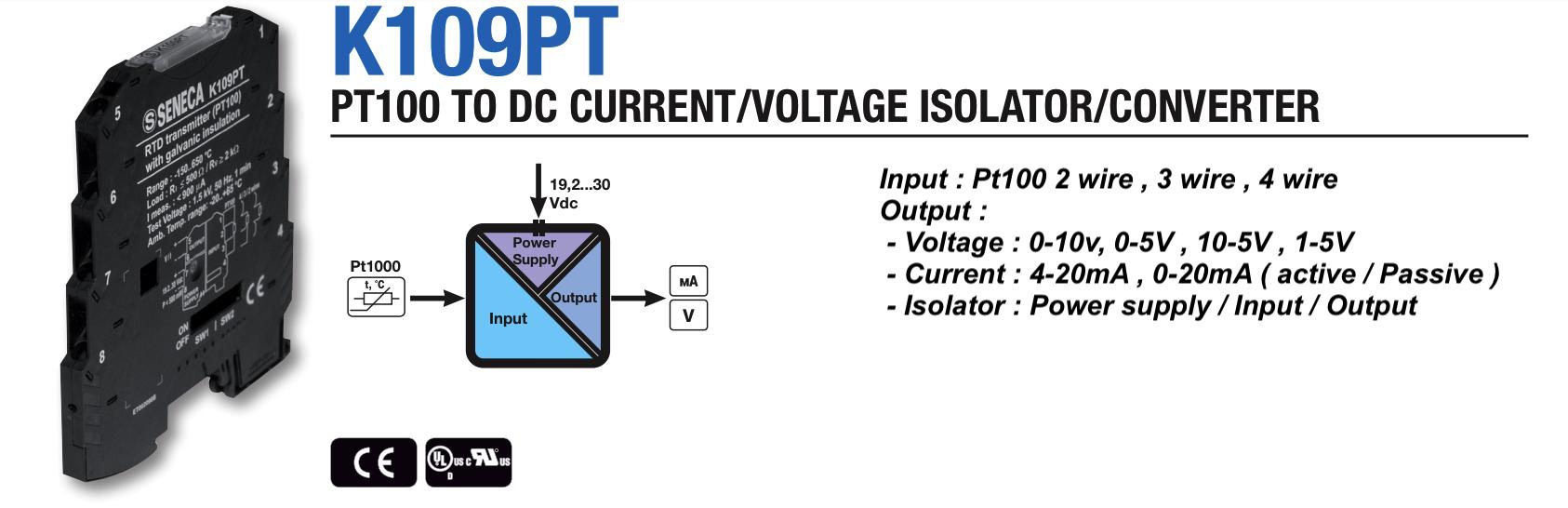 bộ chuyển đổi tín hiệu K109PT