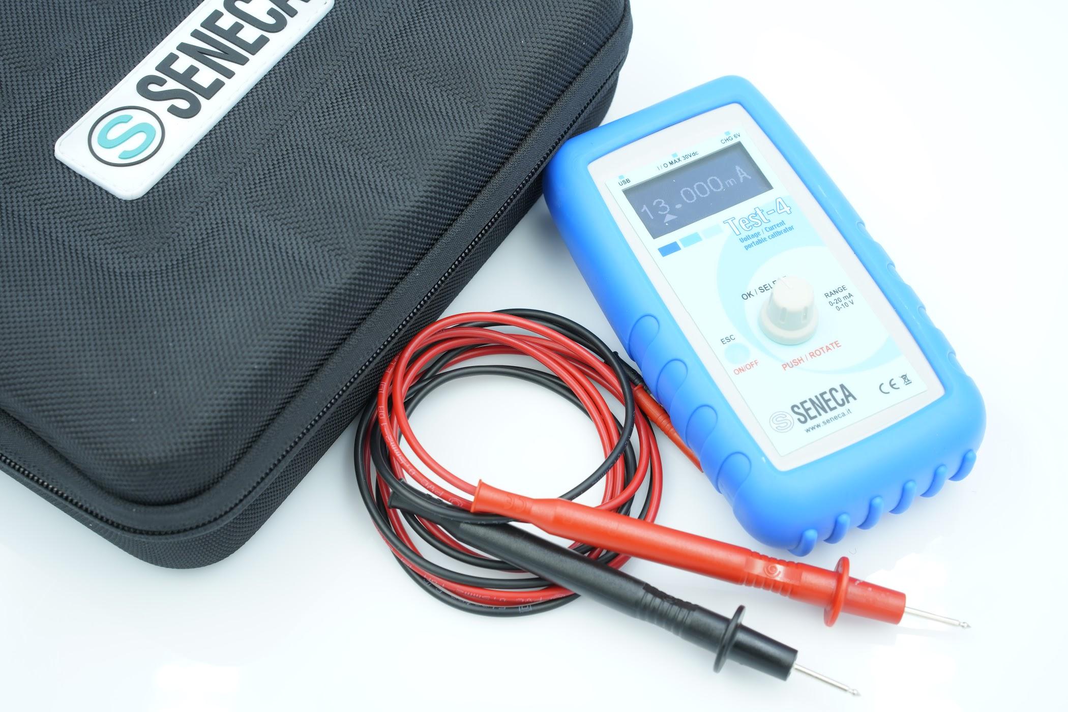Bộ phát dòng 4-20mA 0-10V | TEST-4 Seneca