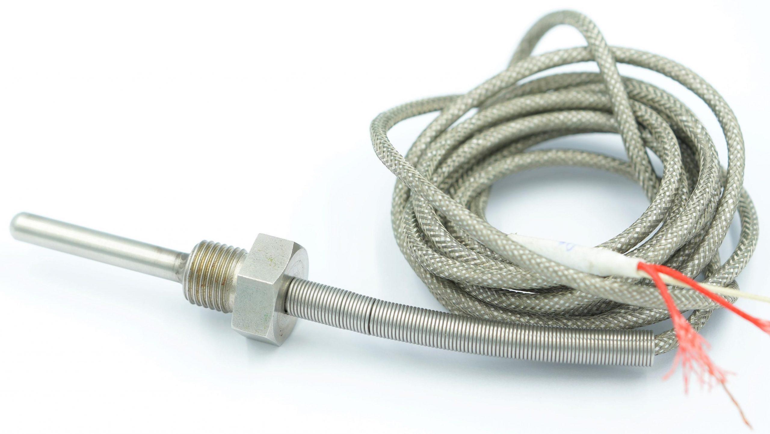 Cảm biến đo nhiệt độ Pt100 loại dây - loại que