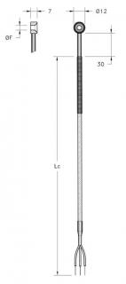 cảm biến nhiệt độ Pt100 dạng vòng bi