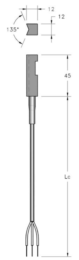 cảm biến nhiệt độ đo trên đường ống