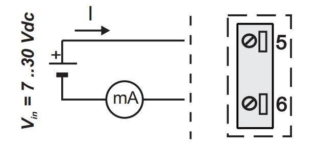 K121 sử dụng nguồn loop