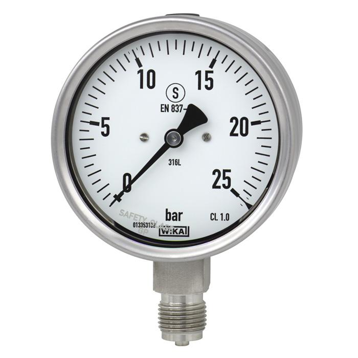 đồng hồ đo áp suất 0-25 bar