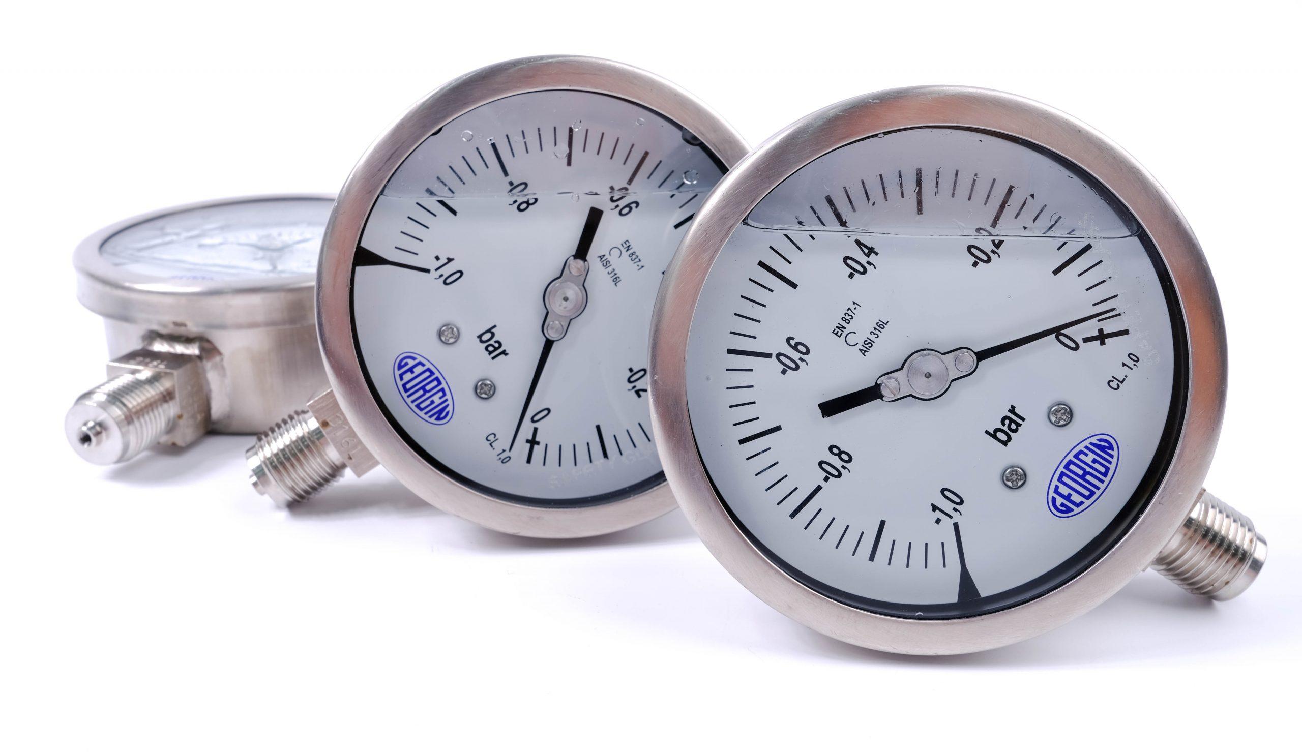 Đồng hồ đo áp suất Vaccum -1...0 bar