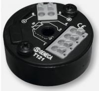 bộ chuyển đổi tín hiệu nhiệt độ Pt100 gắn trên đầu cảm biến