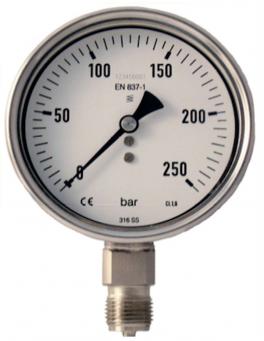 đồng hồ áp suất thủy lực stiko