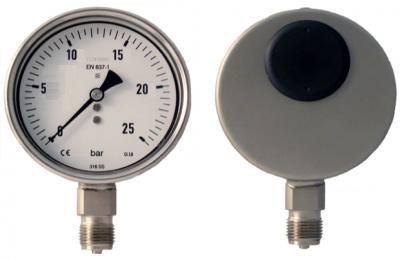 đồng hồ đo áp suất hơi nóng Stiko