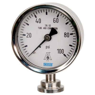 đồng hồ đo áp suất Wika dạng màng clamp