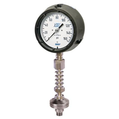đồng hồ đo áp suất Wika nhiệt độ cao