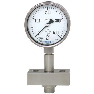 đồng hồ đo áp suất Wika thủy lực