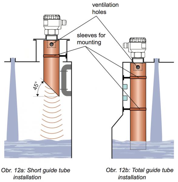 cách lắp đặt hạn chế sai số cảm biến siêu âm