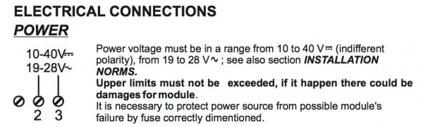 cấp nguồn bộ cách ly tín hiệu 4-20mA