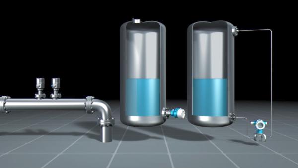 cảm biến áp suất dùng để đo mức