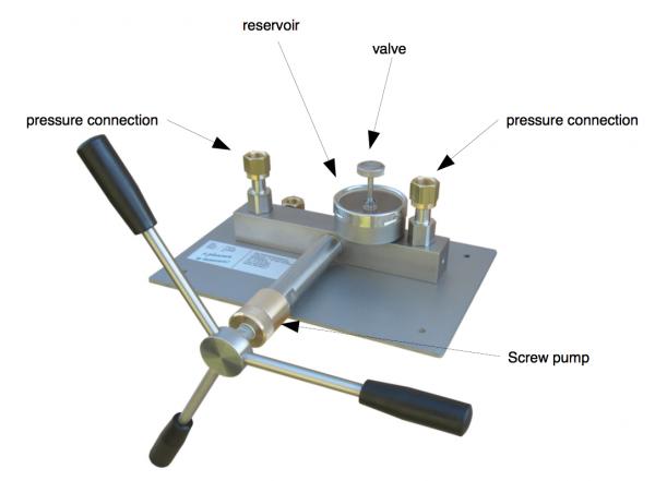cách sử dụng thiết bị hiệu chuẩn áp suất