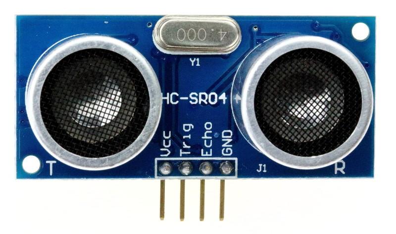 Model cảm biến siêu âm HC-SR04