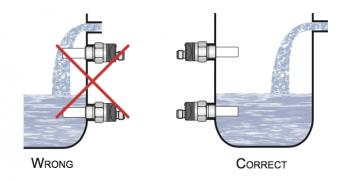 cách lắp đặt cảm biến báo đầy báo cạn mức nước