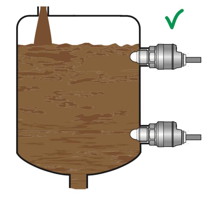 cảm biến đo mức chất lỏng dùng tiếp điểm NPN