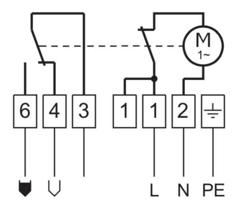 tiếp điểm relay SPDT