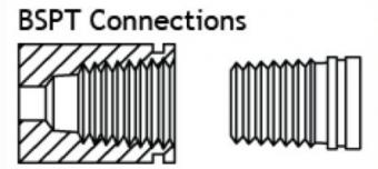 tiêu chuẩn kết nối ren bspt