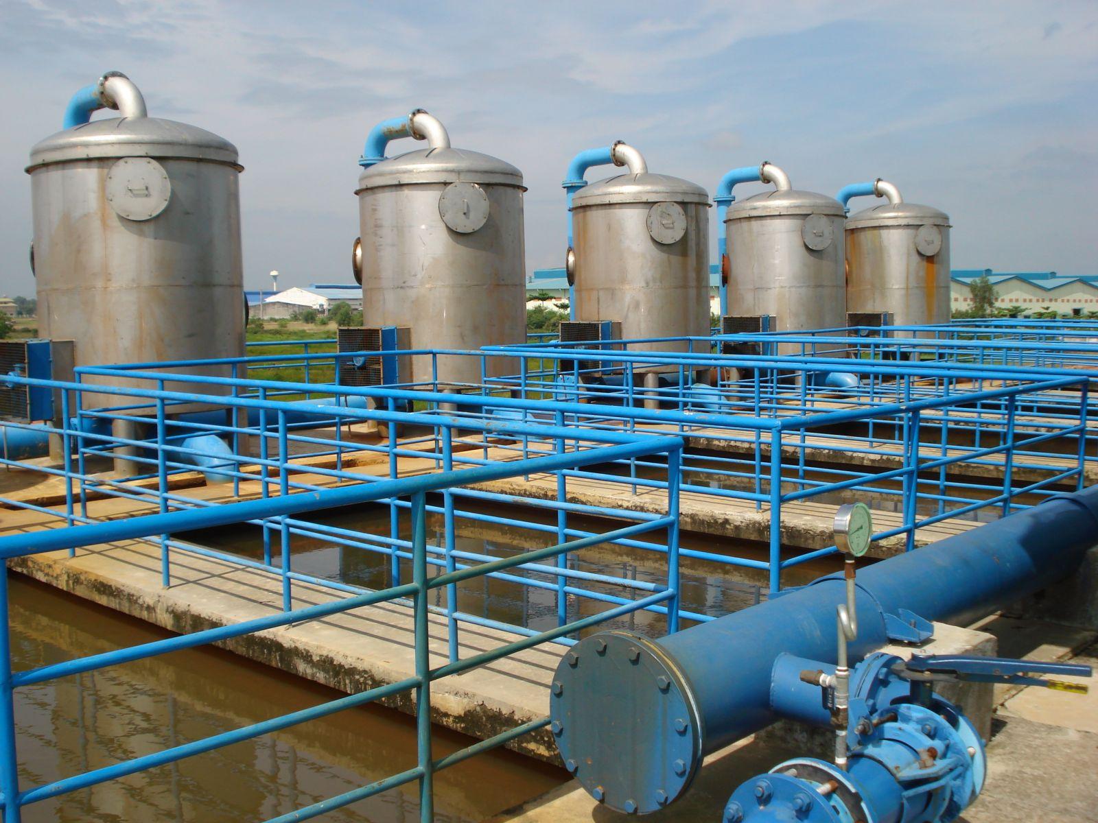 cảm biến áp lực 4-20mA xử lý nước thải
