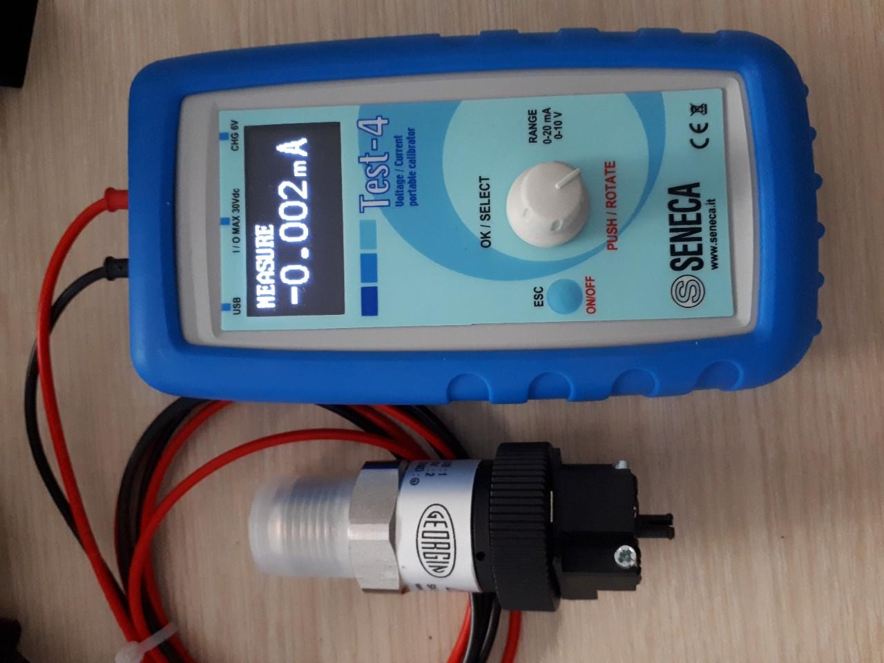 trước khi kiểm tra tín hiệu 4-20mA với cảm biến áp suất