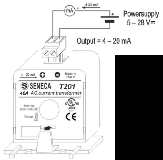 cách sử dụng biến dòng analog 4-20mA