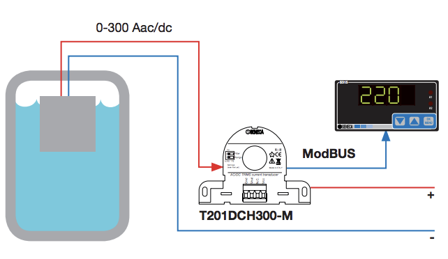 biến dòng analog 0-10V modbus