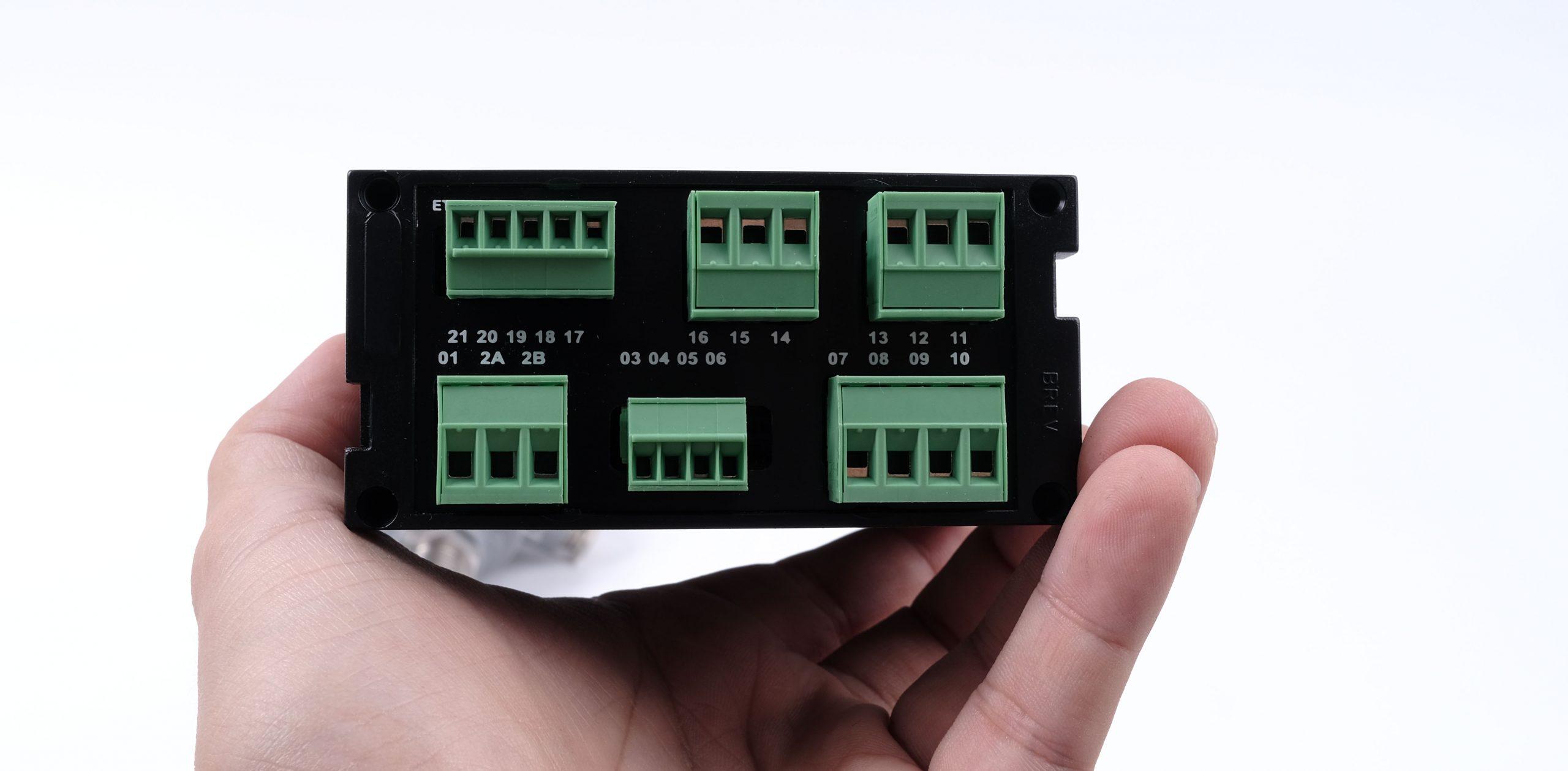 Mặt sau bộ hiển thị dòng điện S311A-4-H-O