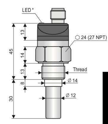 cảm biến báo mức CLS-23N-10