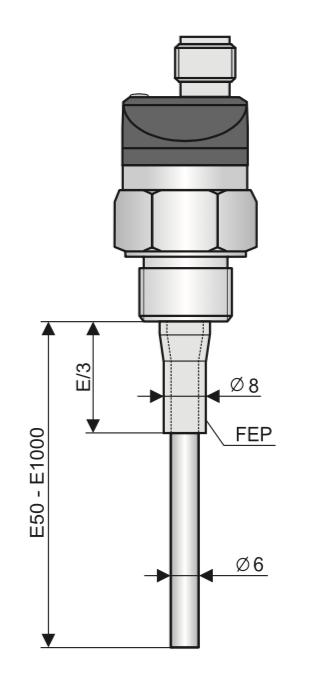 cảm biến báo mức nước - nước nóng CLS-23N-20