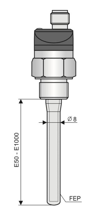 cảm biến đo mức nước lò hơi CLS-23N-21