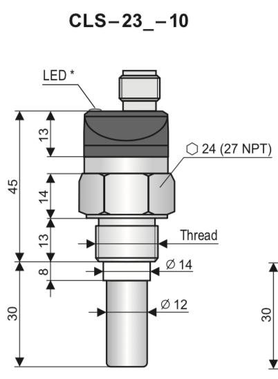 cảm biến đo mức dầu CLS-23N-10