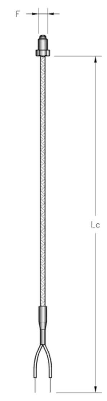 thông số kỹ thuật cảm biến nhiệt độ đầu rùi 2 dây