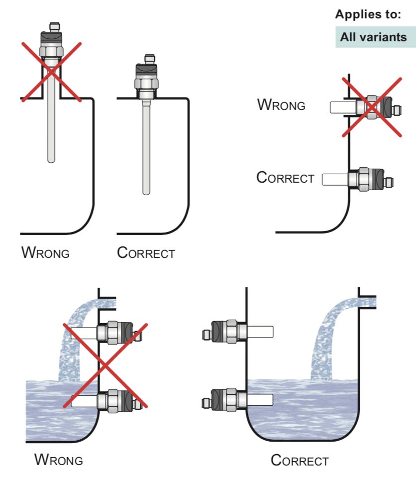 cách lắp đạt cảm biến báo mức nước giá rẻ