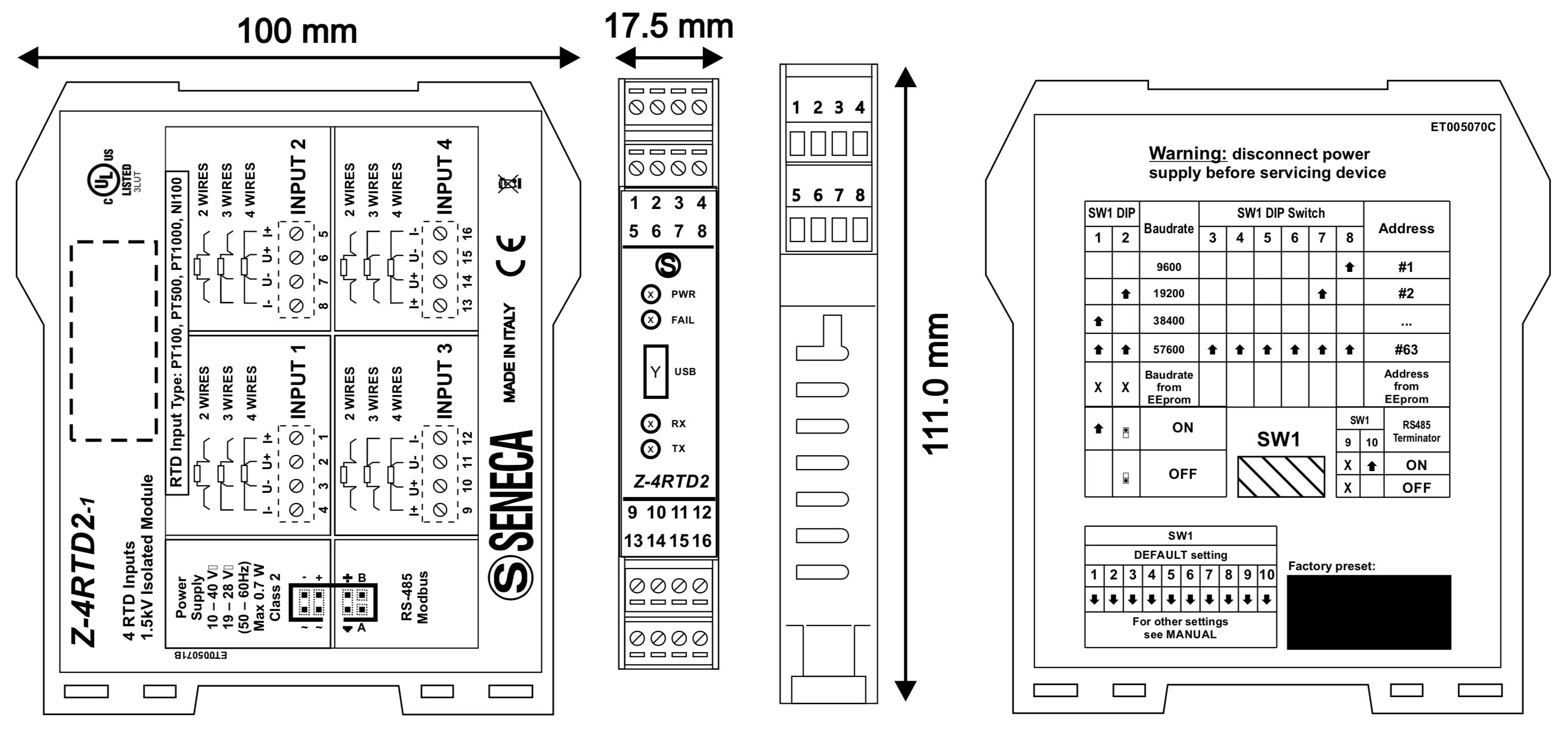 sơ đồ kết nối Z-4RTD2