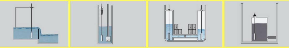 ứng dụng cảm biến đo mức nước thuỷ tĩnh