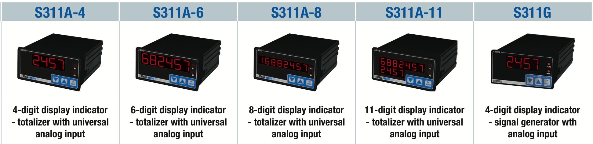 bộ hiển thị đa năng Seneca S311A