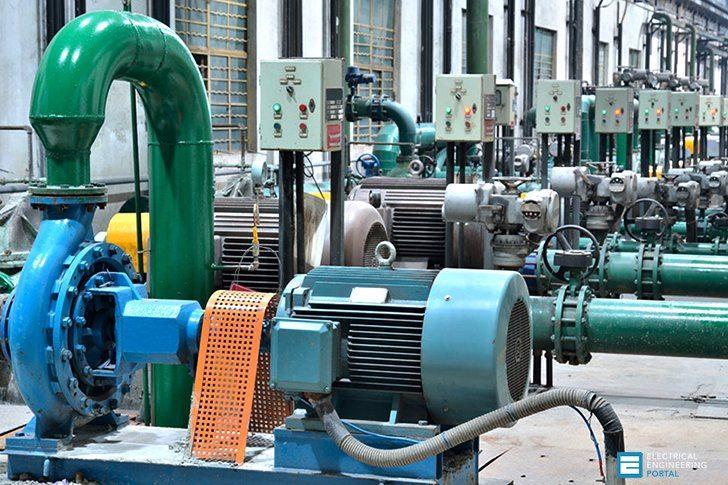 Động cơ không đồng bộ ba pha dùng trong công nghiệp