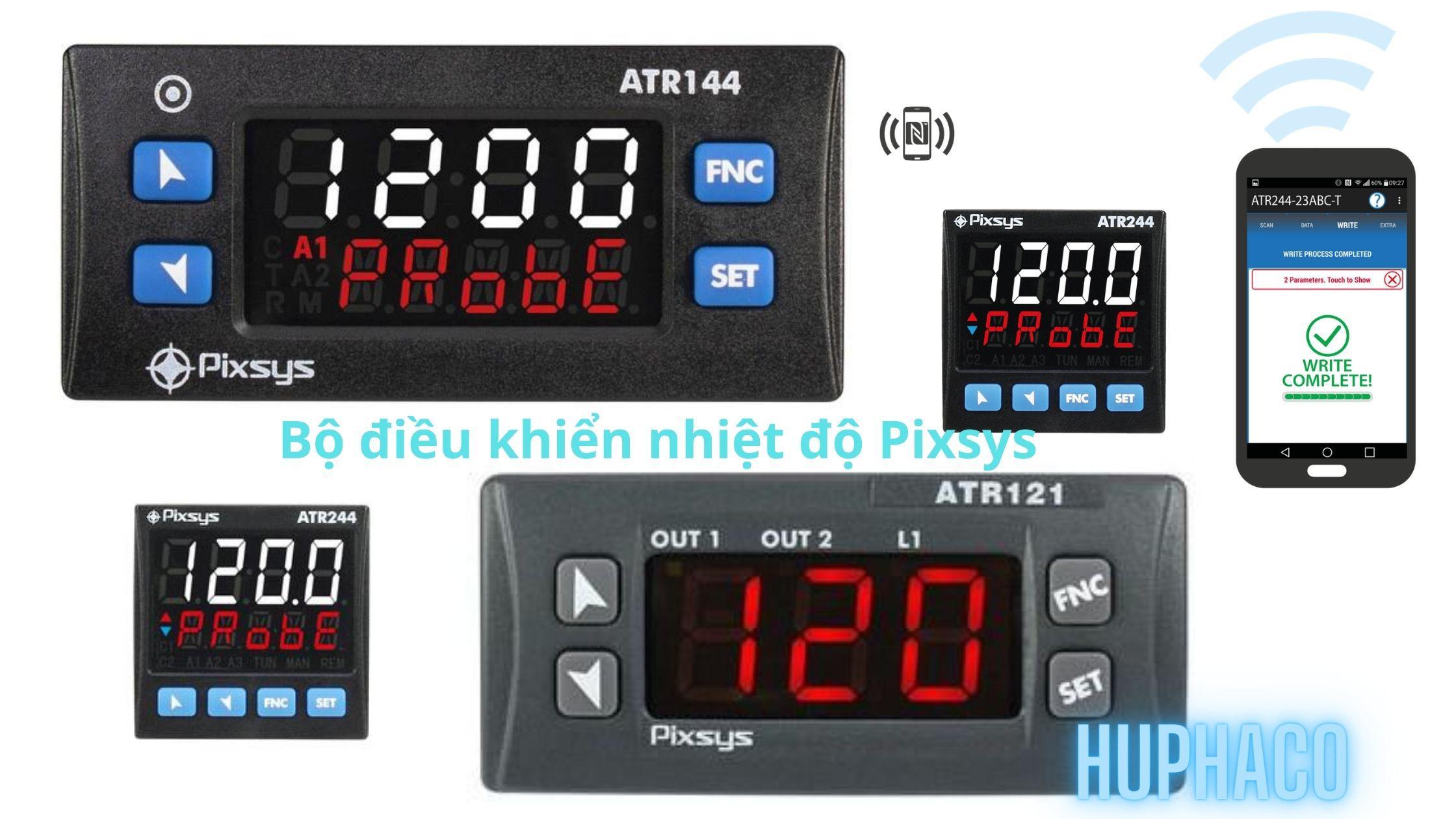 Bộ điều khiển nhiệt độ Pixsys