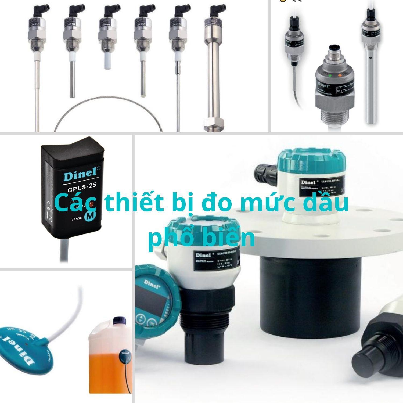 Các thiết bị đo mức dầu trong tank chứa