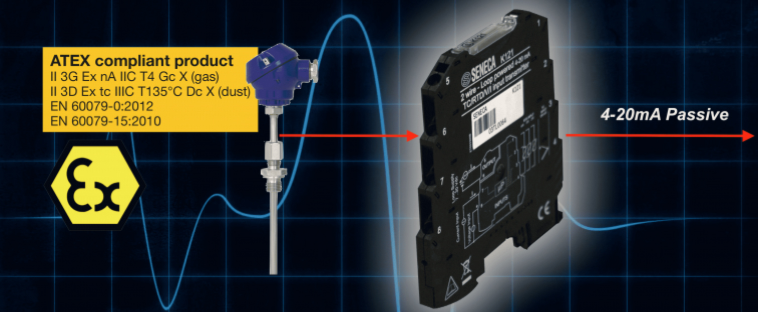 Bộ chuyển đổi tín hiệu can nhiệt K R S B