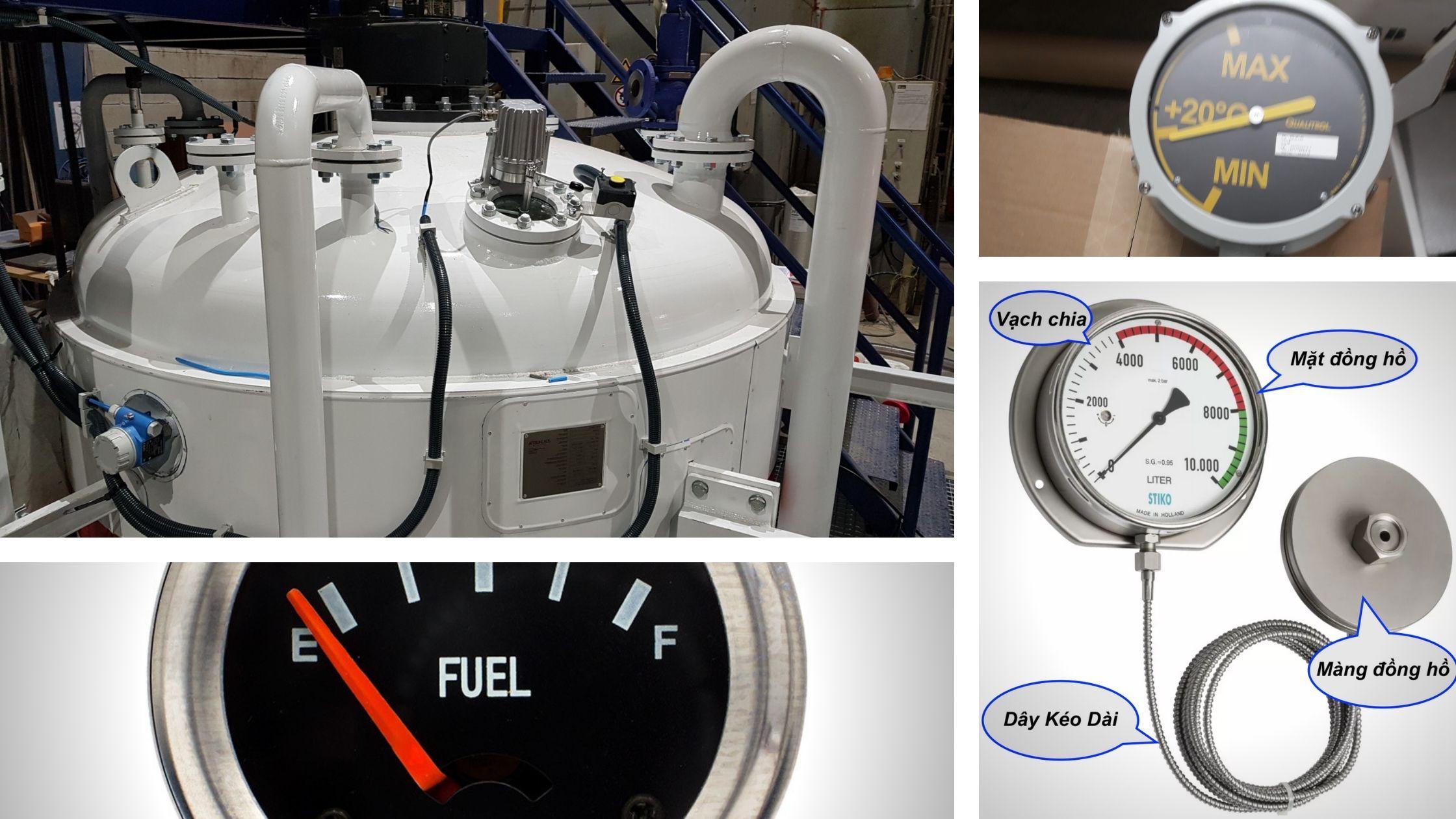 Đồng hồ đo mức dầu