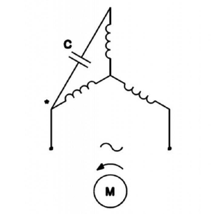 Kết nối với động cơ theo mô hình sao