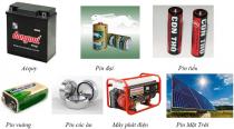 Một số nguồn điện phổ biến hiện nay