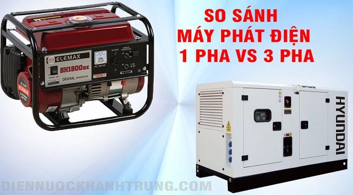 So sánh về các loại máy phát điện xoay chiều phổ biến hiện nay