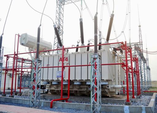 Tăng hạ áp trong quá trình phân phối điện