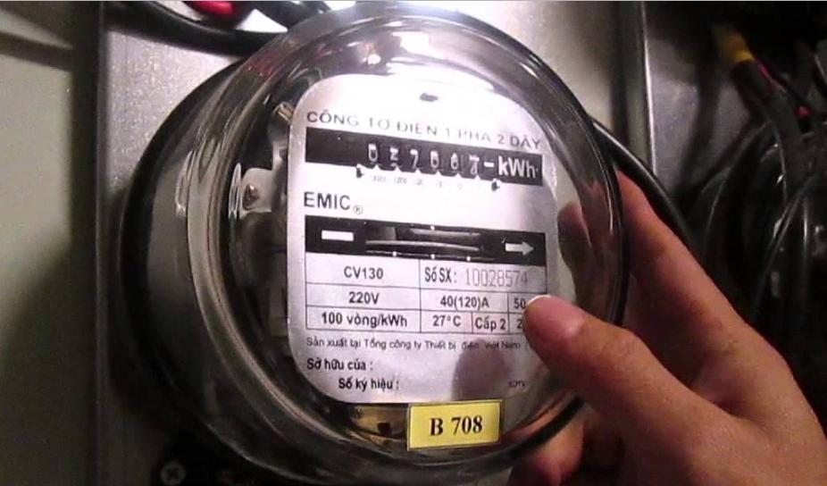 Các nguyên tắc cơ bản khi làm công tơ điện chậm lại