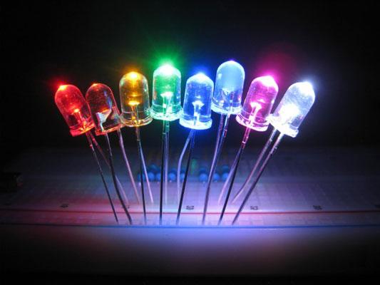 Phát ánh sáng của chất bán dẫn